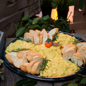 Gourmet Coronation Chicken Dipping Platter
