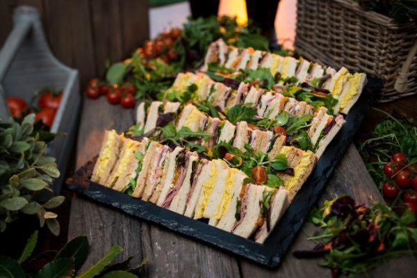 A Sandwich Platter