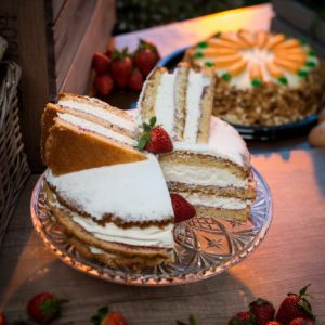Triple Layer Victoria Sponge