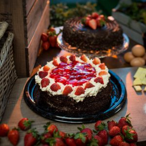 Fresh Strawberry Gateau