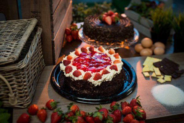 Fresh Strawberry Gateau